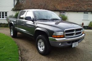 LEFT HAND DRIVE 2003 DODGE RAM DAKOTA 4X4 SLT QUAD CAB TRUCK 5 SPEED MANUAL LHD