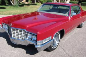 1969 Cadillac Rare Beautiful Arizona Car Must See Loaded Coupe WOW!