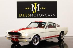1965 MUSTANG FASTBACK SHELBY GT350 TRIBUTE, RESTOMOD, THOUSANDS IN UPGRADES!! Photo