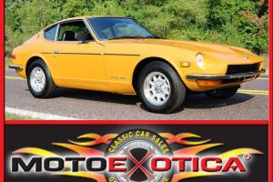 1971 DATSUN 240Z RECENT EXTENSIVE RESTORATION - FACTORY GOLD!!!! NEW A/C!!!
