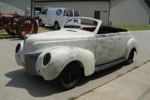 1940 Mercury convertible stock or street rod project