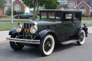 1928 FRANKLIN AIRMAN MODEL 12B LIMITED 2 DOOR VICTORIA BROUGHAM