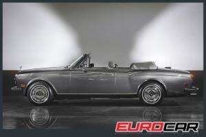 COLLECTOR ITEM LOW MILES VINTAGE ROLLS-ROYCE CORNICHE CONVERTIBLE