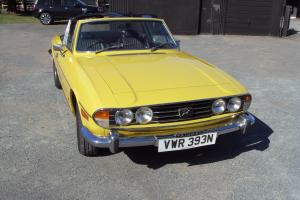 1974 TRIUMPH STAG PX WELCOME
