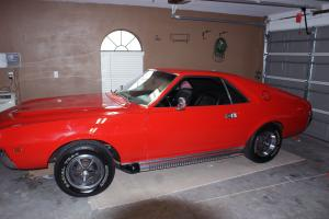 1969 AMC AMX TORCH RED -- JUST FINISHED RESTORATION! Photo
