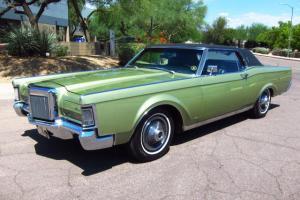 1969 Lincoln Continental Mark III - AACA Senior Award Winner - 82K Miles - WOW!!