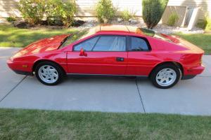1988 Lotus Esprit Turbo Coupe 2-Door 2.2L, 21,000 Miles, Excellent Condition.