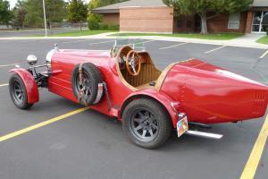 "1927 BUGATTI KIT CAR / ""RUSTIC RED"""