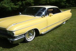 1960 Cadillac Coupe DeVille Rock a Billy Special very nice vintage look hot rod