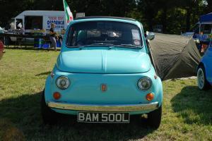 1970 FIAT 500L TURQUOISE