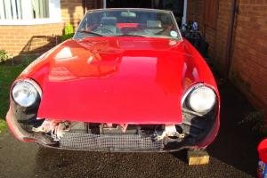 JENSEN JENSEN-HEALEY RED unfinished project  Photo