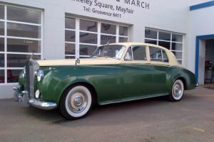 ROLLS-ROYCE SILVER CLOUD I SPORTS SALOON 1957 WITH PAS MOT V5C SUPERB DRIVER