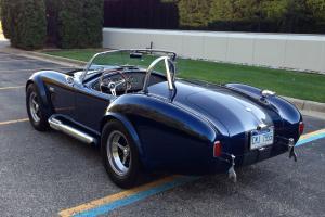 1965 Superformance Shelby AC Cobra Perfect Condition Indigo Blue 2004 replica Photo