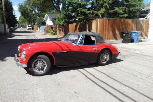 RESTORED 1964 Austin Healey 3000 Mark II 67k orig miles