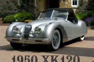 1950 Jaguar XK120 OTS Roadster  XK 120 Pulitzer Prize Recipient Convertible 50