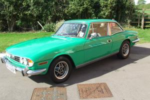 1976 TRIUMPH STAG AUTO GREEN with Hard and Soft Top and great condition