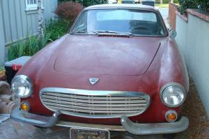 1964 California Black Plate Volvo 1800S - Barn Find