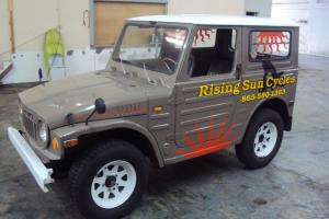 1972 Suzuki LJ20V Hardtop 4x4 runs restored 2 stroke 360 engine