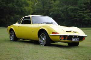 1970 OPEL GT - original CA car - 3rd owner - auto, sunburst yellow/black int