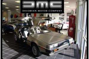 1981 DeLorean DMC-12 Automatic 2-Door Coupe