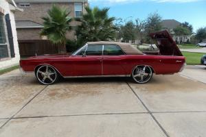 1967 Lincoln continental convertible suicide doors
