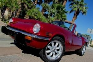 1972 TRIUMPH SPITFIRE ROADSTER ONE OF A KIND STUNNING CUSTOM MUST SEE NO RESERVE