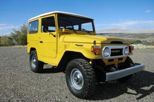 1975 Toyota Land Cruiser FJ40 MINT Restoration FJ 40 LandCruiser