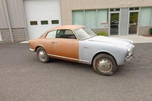 1959 Alfa Romeo Sprint. Needs restoration.