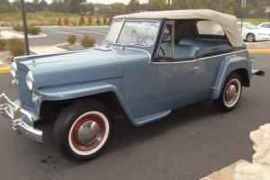 1950 Jeep Willys Jeepster 2.4L