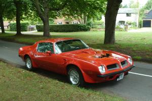 March 1974 Pontiac Trans Am 455 auto with 3.08 posi diff (Its not a SD model)