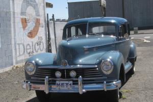 1946 Hudson Super Eight Sedan, Low Mileage Original Show Winner