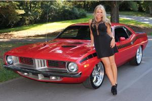 1973 Plymouth Cuda V8 Automatic Power Steerind PDB Barracuda SEE VIDEO