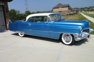 """1955 Cadillac Cpe Deville  !!! DON""""T MISS THIS ONE !!! ONE OF A KIND"""