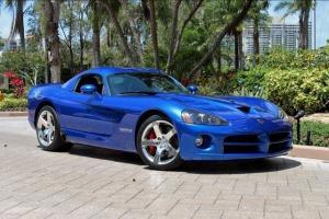 2010 DODGE VIPER SRT-10 ONLY 1K! METALLIC BLUE CHROME NAVIGATION