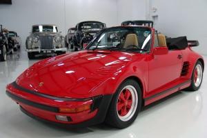 1985 PORSCHE 911 CABRIOLET TURBO SLANT-NOSE CONVERSION, 50,946 ORIGINAL MILES!