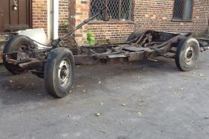 Bentley R Type rolling chassis similar Mk6 Bentley 1953 special project