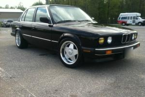1987 BMW 325i/is e30 4 dr 5spd M52 swap real clean!!