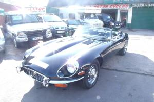JAGUAR E-TYPE V12 CONVERTIBLE MANUAL 1972