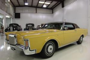 1971 LINCOLN MARK III 2-DOOR HARDTOP COUPE, ONLY 32,005 MILES, C6 AUTOMATIC!