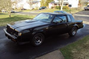 1987 Buick Grand National .Turbo ,T-tops