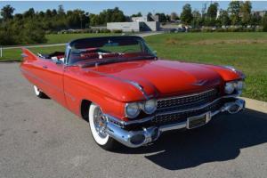 1959 Series 62 Cadillac Convertible Fully Restored