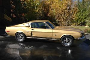 1968 SHELBY GT500 FASTBACK MUSTANG 428 CI 360HP C6 AUTO