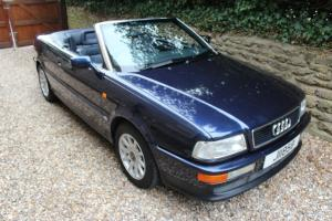 Audi 2.6E Cabriolet. 34,000 miles. Family Owner. Near Mint. 1995.  Photo