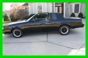1986 BUICK GRAND NATIONAL-FRAME ON RESTORATION- MUST SEE!!!