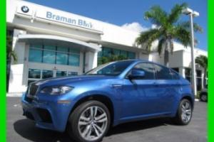12 CERTIFIED MONTE CARLO BLUE X-6 M 4.4L V8 AWD SUV *PIANO BLACK TRIM *HEAD-UP
