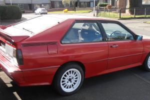 1985 AUDI QUATTRO RHD RED