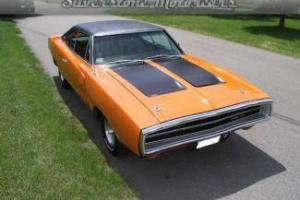 1970 Orange Charger! PS, PB. PW. AC Ready, Restored, Magnum 440, West Coast Car
