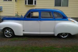 1946 NASH 600 STREET ROD, 91 383 STROKER/ 91 CORVETTE TUNE PORT INJECTION