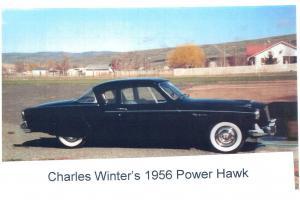 1956 Studebaker Power Hawk