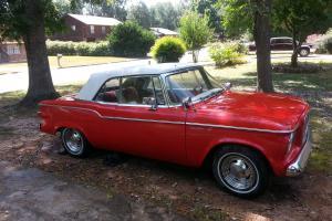 1960 V6 Studebaker Lark 2 Door Couple Convertible Classic Vintage Antique Car